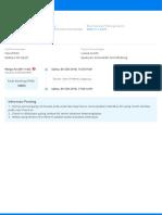 E-tiket Penerbangan Pergi Anda - No. Pesanan 9991810051597015 (9201810051594392)