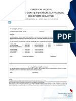 2a Certificat Medical FFME