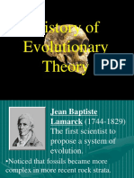 History of Evolution Theory