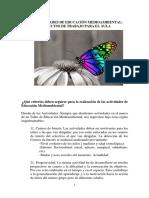 Proyectos de Trabajo en El Aula_ Actividades Medioambientales