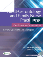 Adult-Gerontology and Family Nurse PractitiCertification Examination - Dunphy, Lynne M., Winland-Brown, Jill E