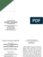 2010 - tarot rider waite - 78 cartas e instru寤es de uso segundo arthur edward waite - arthur edward waite.doc