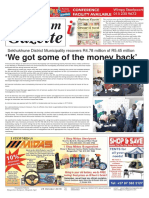 Platinum Gazette 26 October 2018