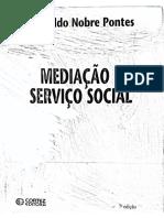 Mediação e serviço social