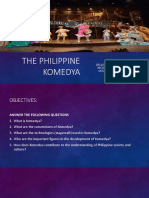 The Philippine Komedya