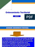 Ordenamiento Territorial II-1