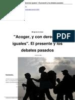 Acoger y Con Derechos Iguales El Presente y Los Debates Pasados a14203
