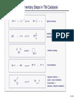 Fundamental Organometallic Reactions