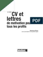 100 Cv Et Lettres de Motivation Pour Tous Les Profils [ WwW.livreBooks.eu ]