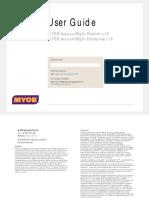 AccountRight Enterprise v19 User Guide - MYOB