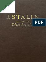 Stalin Esbozo Biográfico