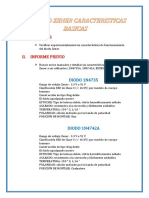 El Diodo Zener Caracteristicas Basicas
