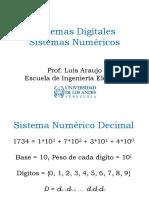 Sistemas Digitales Clase #1