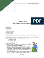 3. Cap 3 Factores Ergo