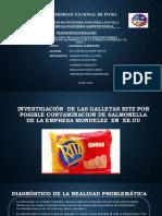 Investigación de las galletas ritz por posible contaminación de salmonella de la empresa mondelez en eeuu