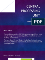 Central Processing Unit - Types of CPU