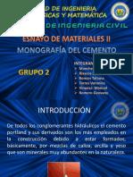 Monografía del Cemento Grupo 2 Paralelo 1.pptx