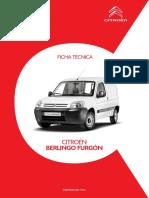 Ficha Tecnica Berlingo Furgon