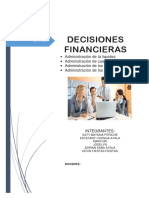 Decisiones Financieeras