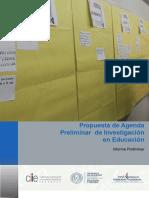 Agenda Investigacion Educacion