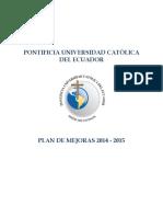 Plan Mejoras Puce 2014 2015