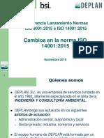 Cambios en La Norma ISO 14001 2015_Jorge Vicente_Deplan