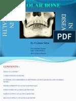 Alveolar bone in health disease seminar