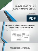 clasificacion de procesadores de potencia
