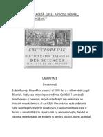 ENCICLOPEDIA FRANCEZĂ