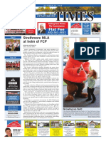 October 26, 2018 Strathmore Times