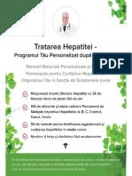Trateaza Hepatita - Programul Tau Personalizat
