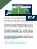 Bursa Taruhan Olympique Marseille vs PSG 29 Oktober 2018
