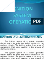 Ignition System Operation
