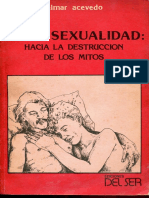 Acevedo, Zelmar - Homosexualidad, Hacia La Destruccion de Los Mitos1