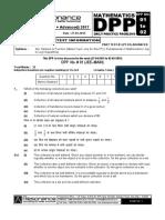 XI Maths DPP (01) - Sets_Relations _ Functions + Basic Maths