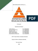 ATPS- Projeto fábrica