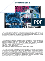 PENSAMIENTO ''CIENTÍFICO'', UNA CUESTIÓN DE FE.pdf