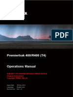 Premiertrak 400_R400 (T4) Operations Manual Revision 1.0 (en)