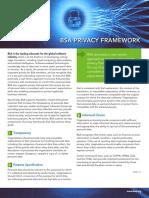 Business Software Alliance Privacy Framework