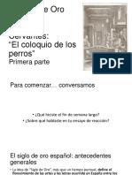Cervantes_el Coloquio de Los Perros Clase