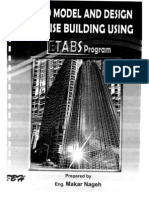 How to Model and Design High Rise Buildings Using ETABS