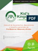 Manual Kinder 2018