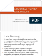 Proposal Pendirian Praktek Klinik Mandiri