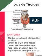 Patología de Tiroides