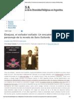 Eisejuaz, el soñador soñado- Un encuent...novela de Sara Gallardo | DIVERSA Blog