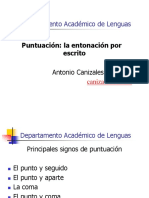 Puntuación (Powerpoint)