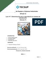 Informe de Climatización