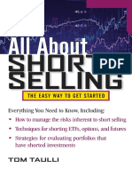 (All About Series) Tom Taulli-All About Short Selling (All About Series) -McGraw-Hill (2011)