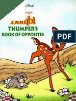 Bambi a Golden Board Book