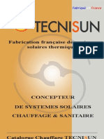 Chauffage solaire - SSC